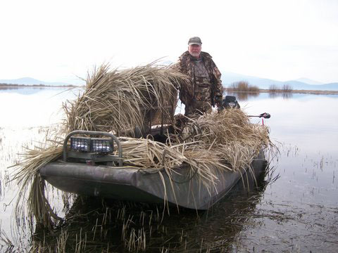 Duck Hunting Boat Blinds